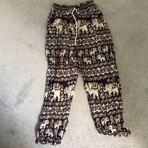 Pants - Elephant flowy pants!